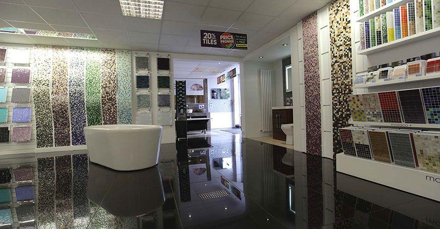 Better Bathrooms Warrington Showroom