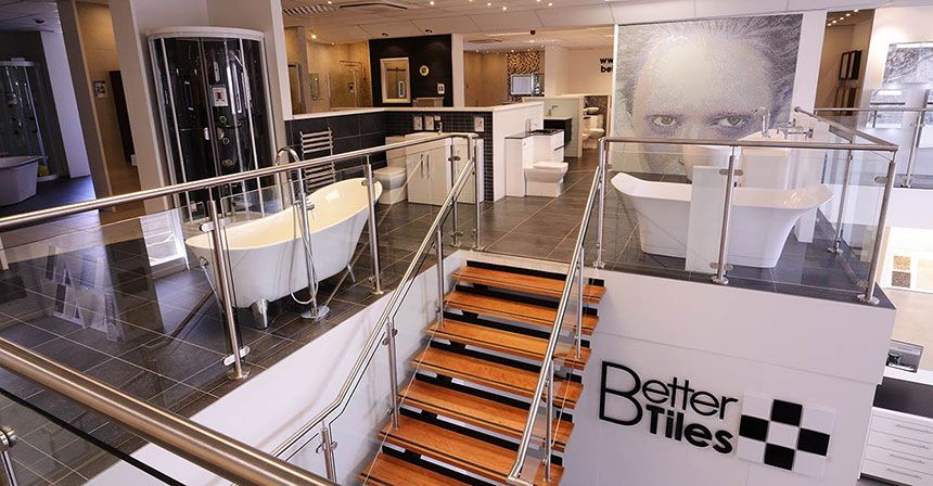 better bathrooms warrington showroom. Black Bedroom Furniture Sets. Home Design Ideas