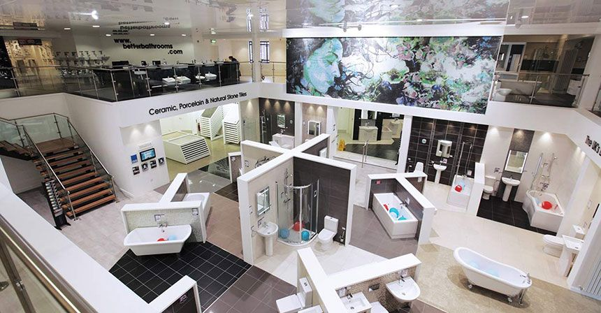 Bathroom Showrooms better bathrooms wigan showroom