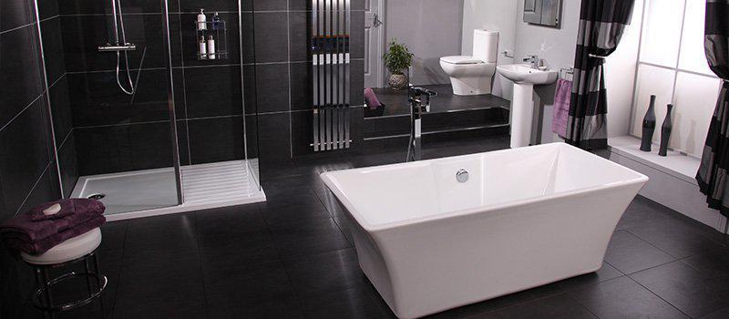 Bathroom Schemes monochrome-bath