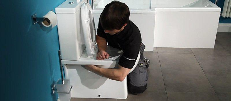 How To Fit A Toilet - Fitting A Toilet Seat
