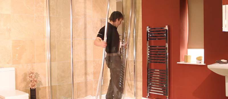 Fitting a Shower Screen, Walk In Shower, Shower Enclosure