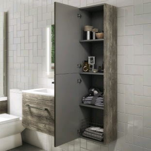 Bathroom Cabinets and Wall Storage.
